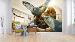 InSmile ® Tapeta Motor letadla Vel. (šíøka x výška)  144 x 105 cm - zvìtšit obrázek