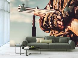 InSmile ® Tapeta Muž na lovu Vel. (šíøka x výška)  144 x 105 cm