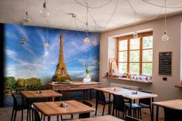 InSmile ® Tapeta Eiffelova vìž Vel. (šíøka x výška)  144 x 105 cm - zvìtšit obrázek