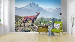 InSmile ® Tapeta Kozorožec horský Vel. (šíøka x výška)  144 x 105 cm