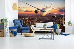 InSmile ® Tapeta Letadlo nad Londýnem Vel. (šíøka x výška)  144 x 105 cm - zvìtšit obrázek