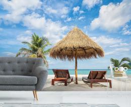 InSmile ® Tapeta Posezení na pláži Vel. (šíøka x výška)  144 x 105 cm - zvìtšit obrázek