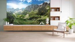 InSmile ® Tapeta Alpské panorama Vel. (šíøka x výška)  144 x 105 cm