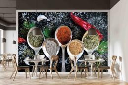 InSmile ® Tapeta Lžíce s koøením Vel. (šíøka x výška)  144 x 105 cm - zvìtšit obrázek