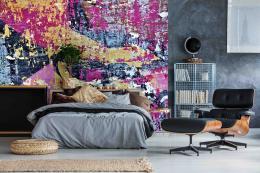 InSmile ® Tapeta Oprýskaná barva Vel. (šíøka x výška)  144 x 105 cm - zvìtšit obrázek