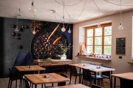 InSmile ® Tapeta Pražení kávy Vel. (šíøka x výška)  144 x 105 cm - zvìtšit obrázek