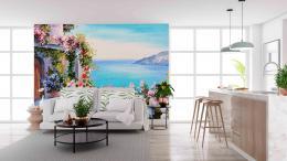 InSmile ® Tapeta Rozkvetlá zahrada Vel. (šíøka x výška)  144 x 105 cm - zvìtšit obrázek