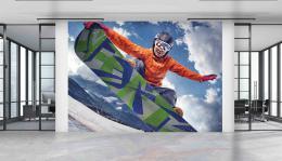 InSmile ® Tapeta Snowboard Vel. (šíøka x výška)  144 x 105 cm - zvìtšit obrázek