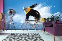 InSmile ® Tapeta Snowboardista Vel. (šíøka x výška)  144 x 105 cm - zvìtšit obrázek
