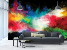 InSmile ® Tapeta barevná exploze Vel. (šíøka x výška)  144 x 105 cm - zvìtšit obrázek