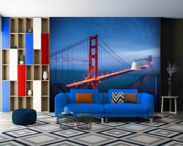 InSmile ® Tapeta Golden Gate Bridge Vel. (šíøka x výška)  144 x 105 cm