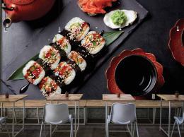 InSmile ® Tapeta Sushi Vel. (šíøka x výška)  144 x 105 cm - zvìtšit obrázek