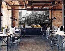 InSmile ® Tapeta èernobílý New York Vel. (šíøka x výška)  144 x 105 cm