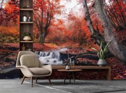 InSmile ® Tapeta Podzimní øíèka Vel. (šíøka x výška)  144 x 105 cm - zvìtšit obrázek