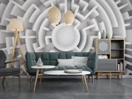 InSmile ® Tapeta 3D bludištì Vel. (šíøka x výška)  144 x 105 cm - zvìtšit obrázek
