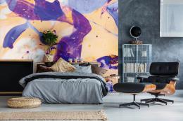 InSmile ® Tapeta Abstraktní malba Vel. (šíøka x výška)  144 x 105 cm