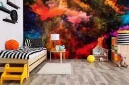 InSmile ® Tapeta Barevný vesmír Vel. (šíøka x výška)  144 x 105 cm