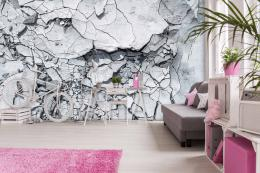 InSmile ® Tapeta Betonová textura Vel. (šíøka x výška)  144 x 105 cm