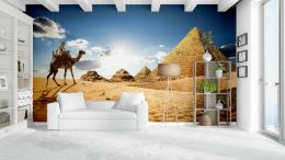 InSmile ® Tapeta Egypt pyramidy Vel. (šíøka x výška)  144 x 105 cm - zvìtšit obrázek