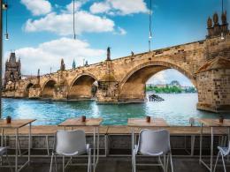 InSmile ® Tapeta Karlùv most Praha Vel. (šíøka x výška)  144 x 105 cm