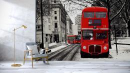 Malvis Tapeta London bus Vel. (šíøka x výška)  144 x 105 cm
