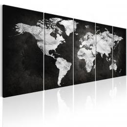 Murando DeLuxe Vícedílný obraz - tmavý svìt Vel. (šíøka x výška)  200x80 cm