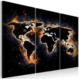 Murando DeLuxe Noèní mapa Velikost  90x60 cm