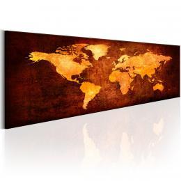 Murando DeLuxe Horké kontinenty Velikost  120x36 cm
