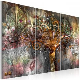 Murando DeLuxe Abstraktní obraz - strom ze zlata
