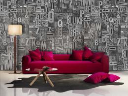 Murando DeLuxe Platinová enigma Klasické tapety  49x1000 cm - samolepicí