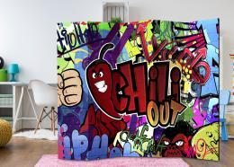 Murando DeLuxe Paraván graffiti chili out