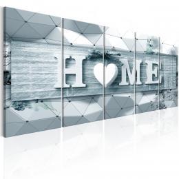 Murando DeLuxe Vícedílný obraz - trojrozmìrný domov