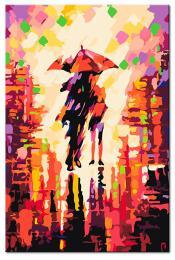 Murando DeLuxe Obraz k vymalování barvami 60x90