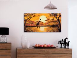 Murando DeLuxe Západ slunce v africkém parku