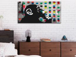 Murando DeLuxe Malování podle èísel - Zamyšlená opice