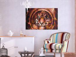 Murando DeLuxe Malování podle èísel - Tygr s ornamenty