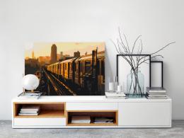 Murando DeLuxe Malování podle èísel - Metro v New Yorku