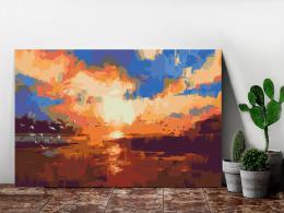 Murando DeLuxe Západ slunce nad jezerem