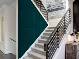 Murando DeLuxe Zelené kachle Klasické tapety  49x1000 cm - samolepicí