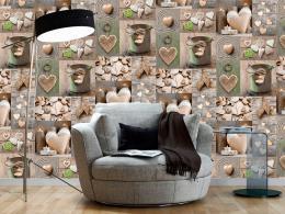 Murando DeLuxe Romantická nálada Klasické tapety  49x1000 cm - samolepicí