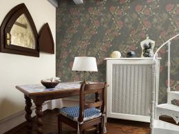 Murando DeLuxe Rùžový klid Klasické tapety  49x1000 cm - samolepicí