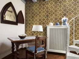 Murando DeLuxe Zlatá mozaika Klasické tapety  49x1000 cm - samolepicí