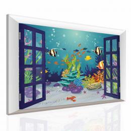 Malvis Dìtský obraz svìt pod vodou
