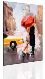InSmile ® Obraz Polibek pod deštníkem  - zvìtšit obrázek