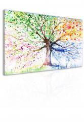 InSmile ® Obraz malovaný strom roèních období I