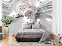 Murando DeLuxe 3D tapeta lilie v tunelu