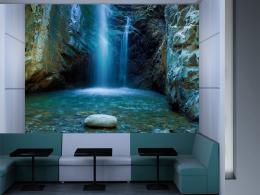 Murando DeLuxe Vodopády na Kypru tyrkysový  - zvìtšit obrázek