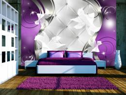 Murando DeLuxe Tapeta purpurové lilie  - zvìtšit obrázek