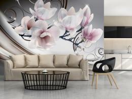 Murando DeLuxe Tapeta magnolie rùžová