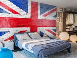 Murando DeLuxe Tapeta Britská vlajka  - zvìtšit obrázek
